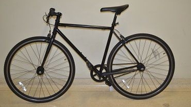 This photo from Toronto police shows a stolen bicycle that was recovered Saturday, Oct. 20, 2012. (Handout)