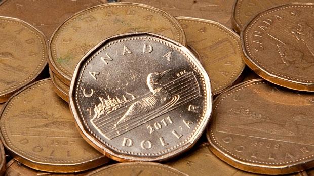 Canadian money, loonies