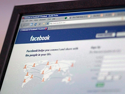 The social networking site Facebook login webpage is seen on a computer screen in Ottawa in this August 27, 2009 photo.(THE CANADIAN PRESS/Adrian Wyld)