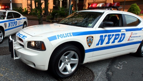 NYPD New York Police Department cruisers