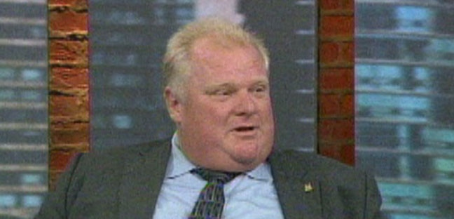 Mayor Rob Ford speaks with CP24 on Friday, Oct. 26, 2012.
