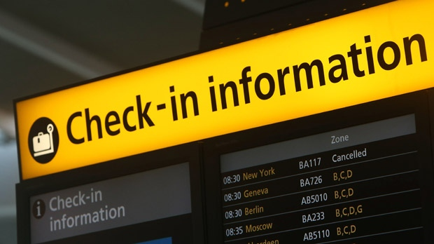 Hurricane Sandy flight delays cancellations NYC