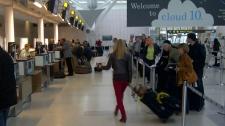 Pearson airport departures Hurricane Sandy