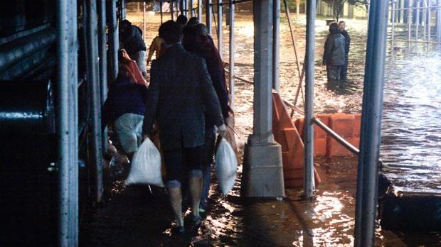 Hurricane Sandy NYC Brooklyn