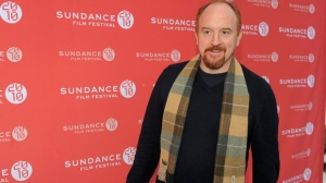 "In this Jan. 26, 2010 file photo, comedian Louis C.K. poses at the premiere of his film ""Louis C.K.: Hilarious"" at the Sundance Film Festival in Park City, Utah. (AP Photo/Chris Pizzello, File)"