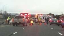 Highway 400 Highway 88 serious crash