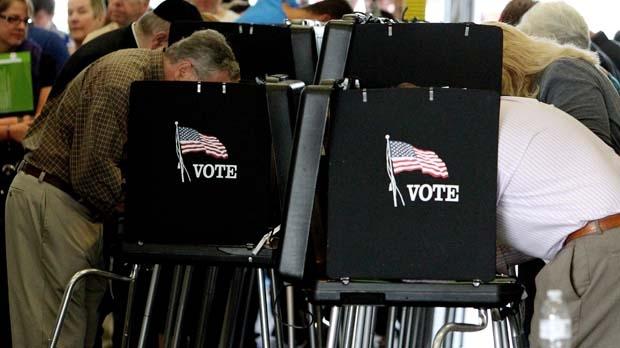 U.S. election day Romney Obama vote Miami