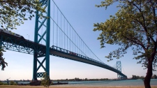 Ambassador Bridge Detroit Windsor new bridges