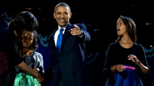 U.S. President Barack Obama election victory