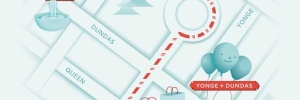 Here is a detailed route of the 2012 Santa Claus Parade, complete with famous Toronto landmarks to help you find your way. Remember, public transit is the best option to get downtown.