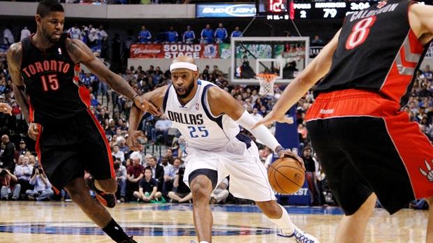 Toronto Raptors Dallas Mavericks Carter Calderon