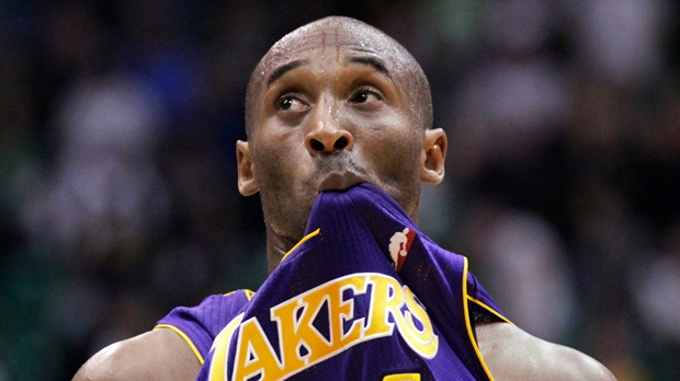L.A. Lakers struggle loss Utah Jazz Kobe Bryant