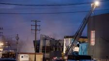 Fatal plant explosion Quebec