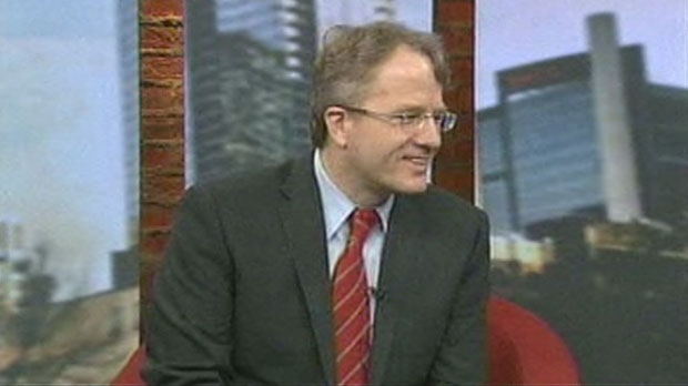 Gerard Kennedy announces his bid for the Ontario Liberal leadership during an exclusive interview with CP24 on Monday, Nov. 12, 2012.