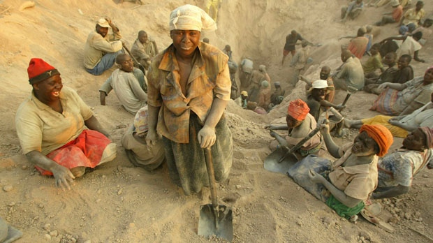 Zimbabwe diamond mine Partnership Africa Canada