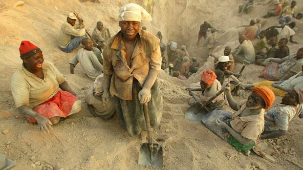 Zimbabwe diamond mine Partnership Africa Canada