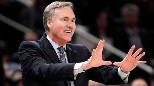 Mike D'Antoni hired Los Angeles Lakers coach
