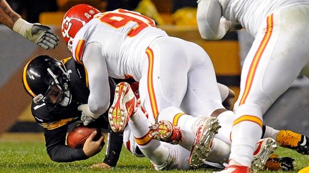 Pittsburgh Steelers QB Ben Roethlisberger injury