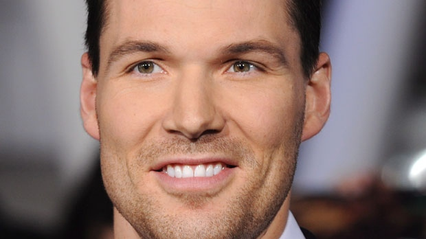 Canadian actor Daniel Cudmore arrives at a premiere in Los Angeles on Nov. 14, 2011. (The Canadian Press/AP, Tammie Arroyo)