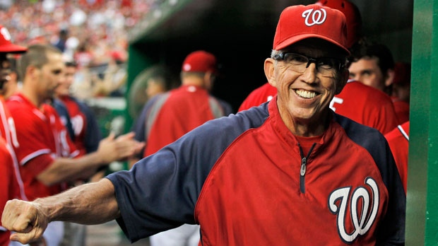 Washington Nationals manager Davey Johnson