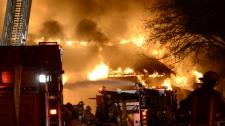 Hamilton Dundas warehouse fire Prema Canada