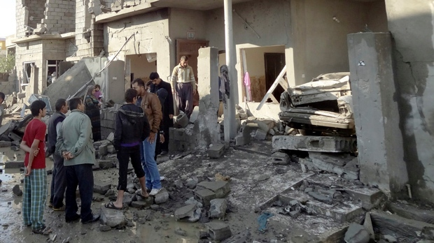 Iraq insurgents bombing Baghdad