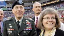 David Petraeus wife Holly affair scandal