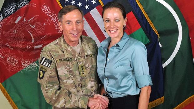 David Petraeus Paula Broadwell affair scandal