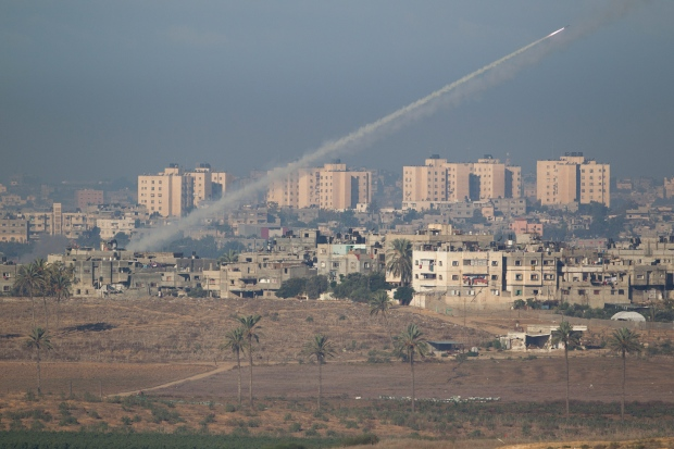 Gaza rockets blast Israel hit attack
