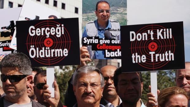 Turkish cameraman freed in Syria