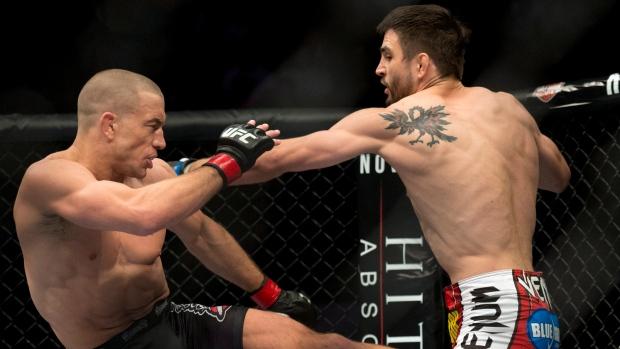 Georges St-Pierre wins UFC welterweight title