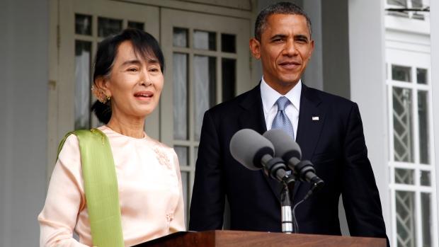 Obama in Myanmar