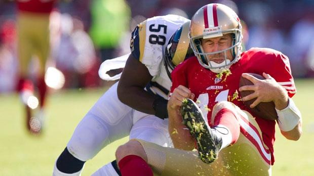 San Francisco 49ers quarterback Alex Smith