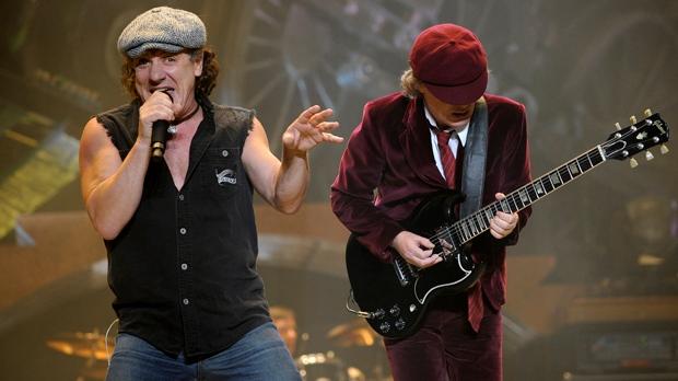 AC/DC lead singer Brian Johnson