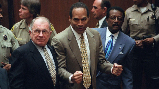 O.J. Simpson acquitted murder trial Nicole Simpson