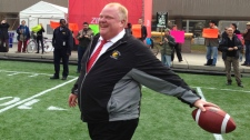 Rob Ford Grey Cup festival Nathan Phillips Square