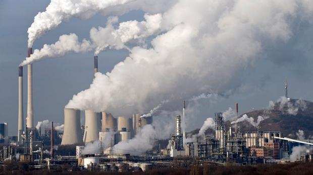 Climate change emissions UN report