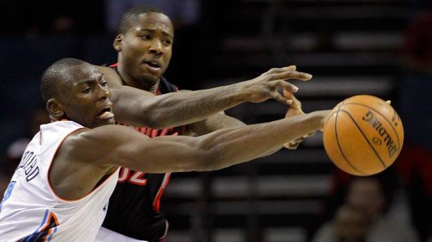 Charlotte Bobcats' Bismack Biyombo