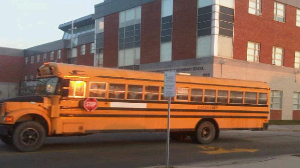 Students at St. Patrick's Secondary School in the city's east end will be allowed to return to school Thursday after an asbestos scare closed the building earlier this week.