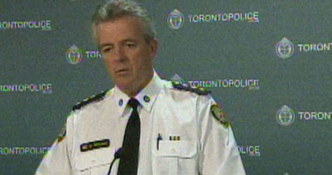 Staff Insp. Greg McLane speaks with reporters in this file photo.