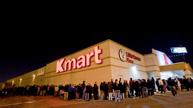 Black Friday shopping deals sales Kmart Chicago