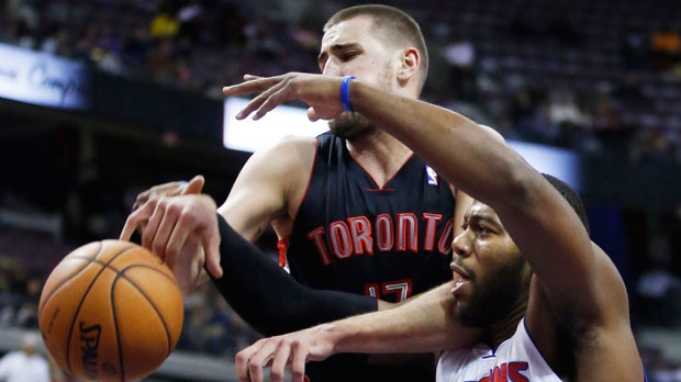 Toronto Raptors center Jonas Valanciunas