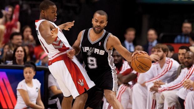 Raptors lose against Spurs