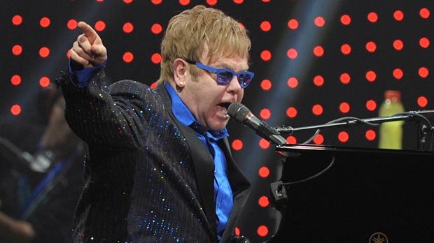 Elton John Beijing concert dedication Ai Weiwei