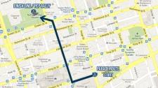 Toronto Argonauts Grey Cup victory parade route