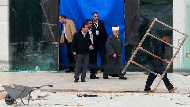 Yasser Arafat remains exhumed murder investigation