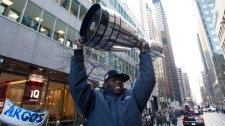 Toronto Argonauts Grey Cup parade city hall