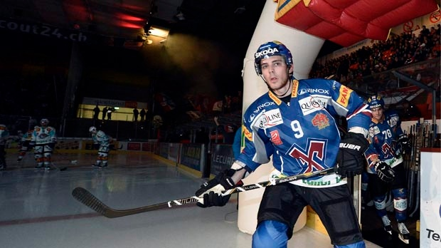 Tyler Seguin EHC Biel Switzerland NHL lockout