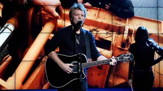 Jon Bon Jovi Hurricane Sandy benefit concert MSG