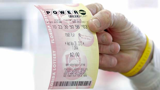 Powerball lottery jackpot 50 million dollars